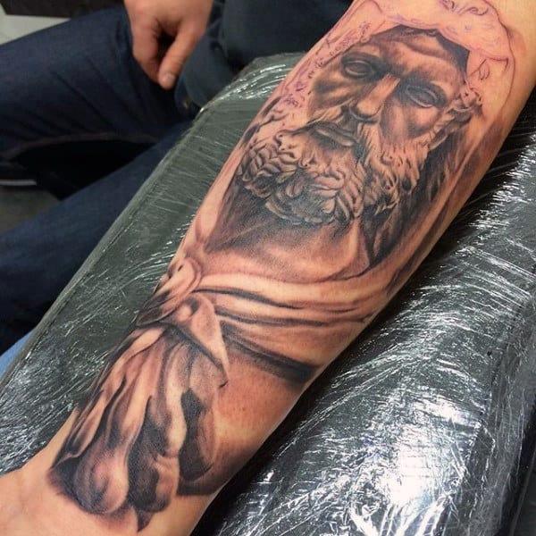Forearm Guys Hercules Tattoo Designs