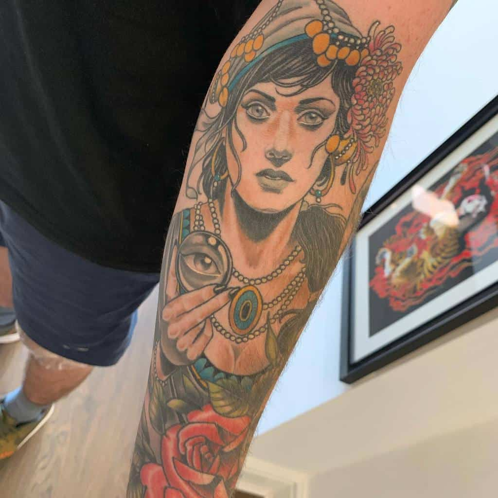 forearm gypsy rose tattoos andrewmirfin