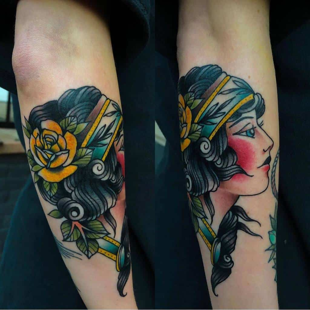 forearm gypsy rose tattoos jasonbarresi