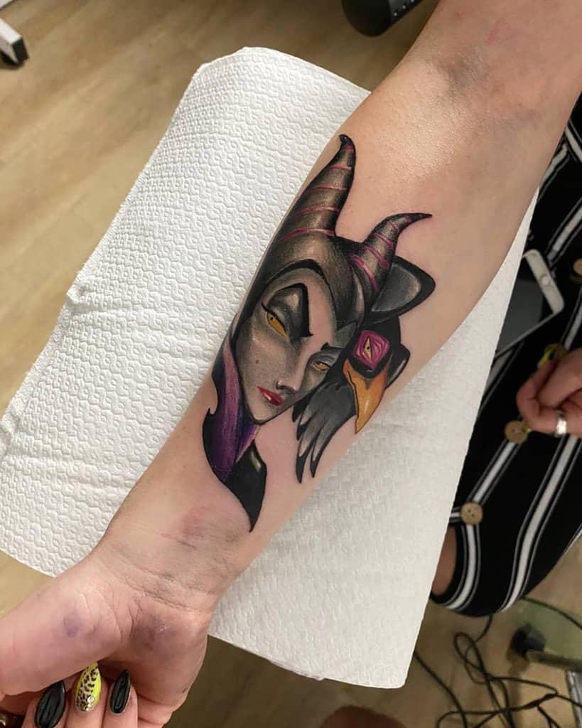 Forearm Maleficent Tattoos Mirko Gafa