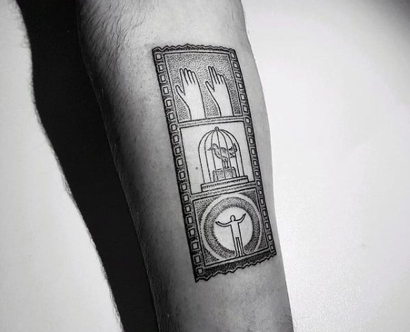 Forearm Mens Detailed Unique Small Frame Tattoo Ideas