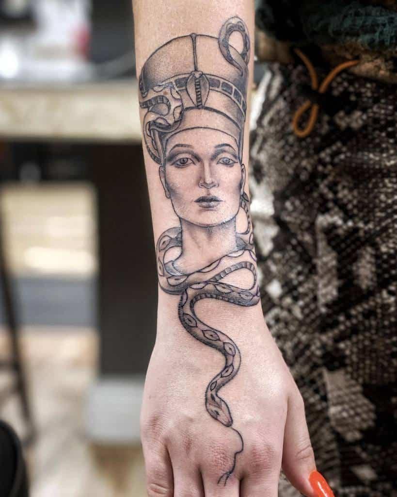 Forearm Nefertiti Tattoos Geme Tattoo