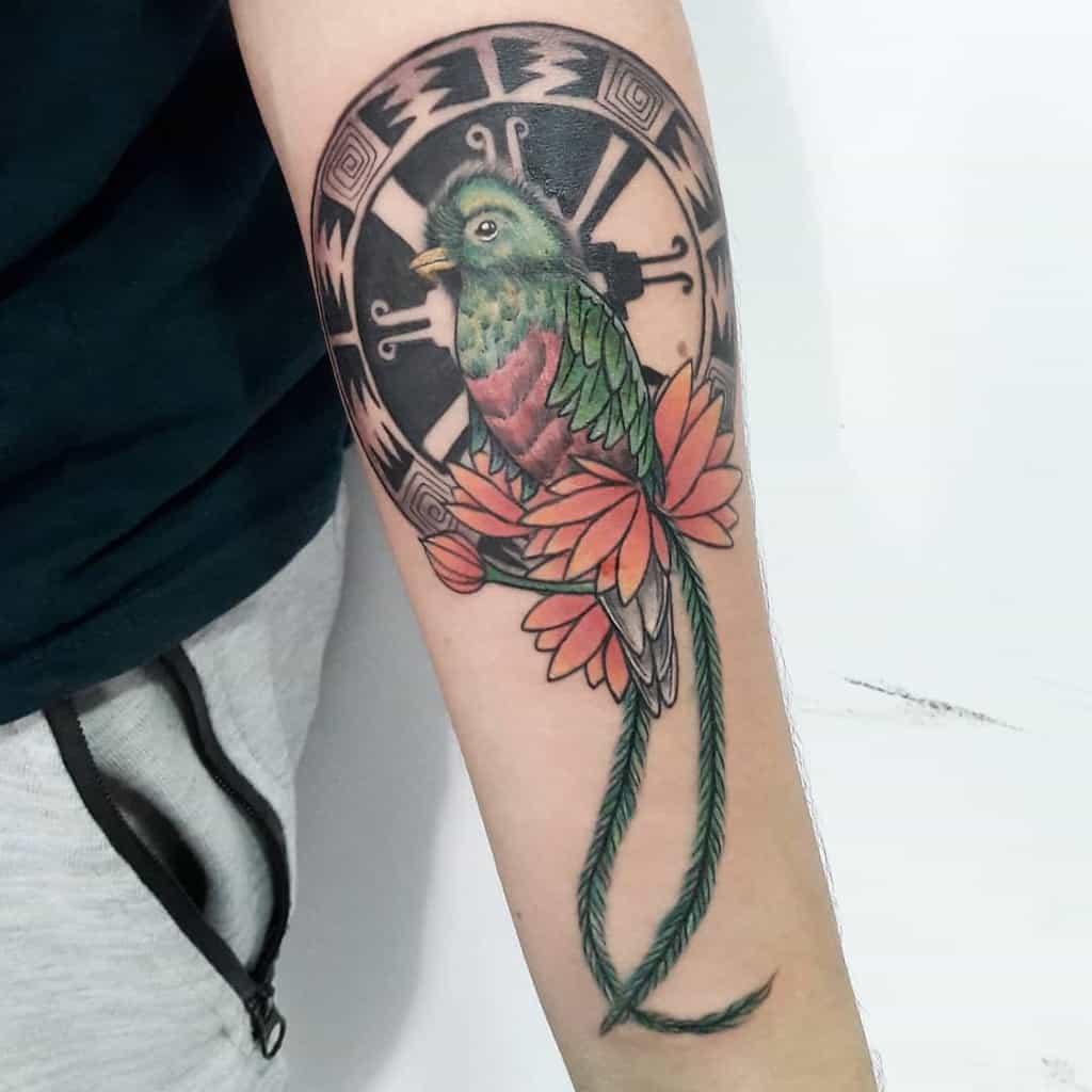 Forearm Quetzal Tattoos Luissilva Blackheart