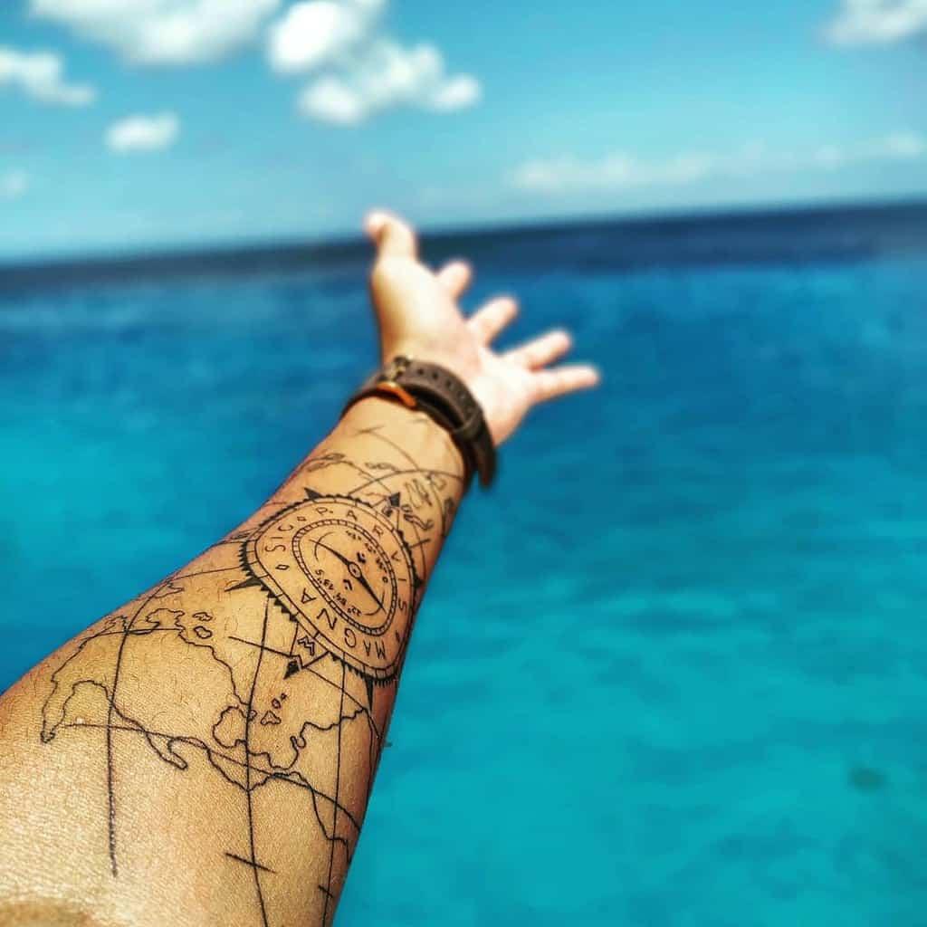 Forearm Sic Parvis Magna Tattoos Ailtonsampaiojr