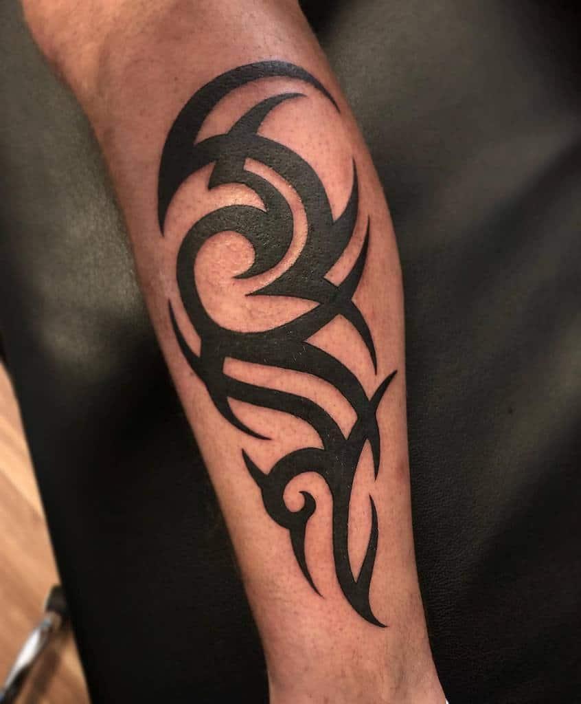 forearm simple tribal tattoos americantattootarragona