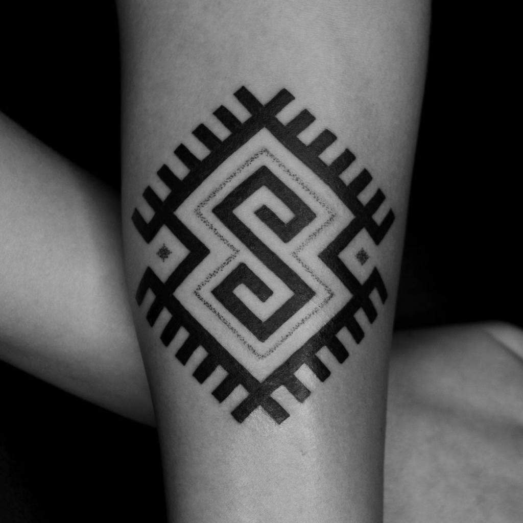 forearm simple tribal tattoos vik_b_tattooer