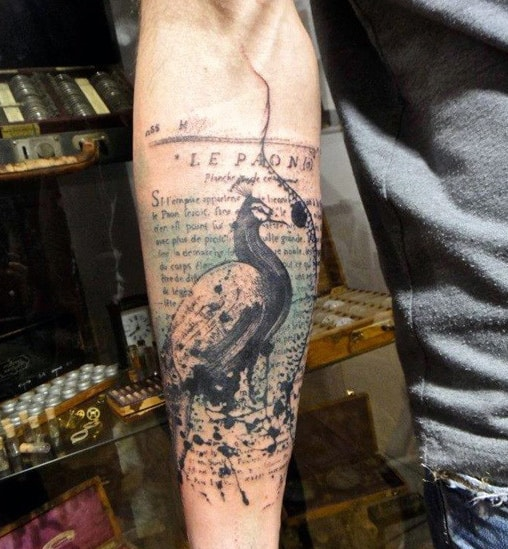 Quote Forearm Tattoos For Men Designs