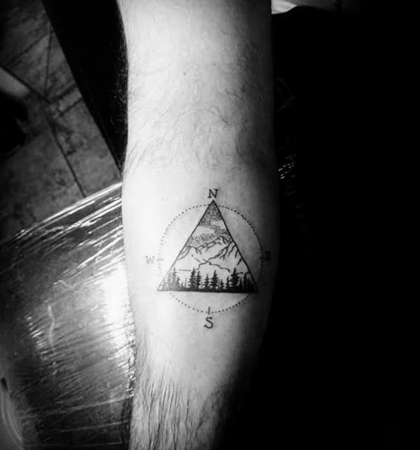 50 Small Geometric Tattoos For Men