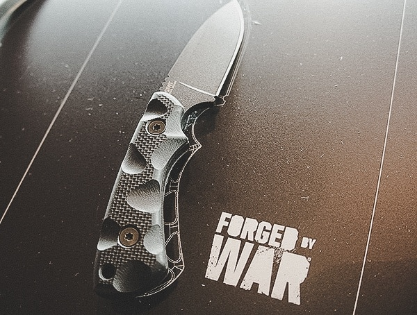 Forged By War Folding Knife