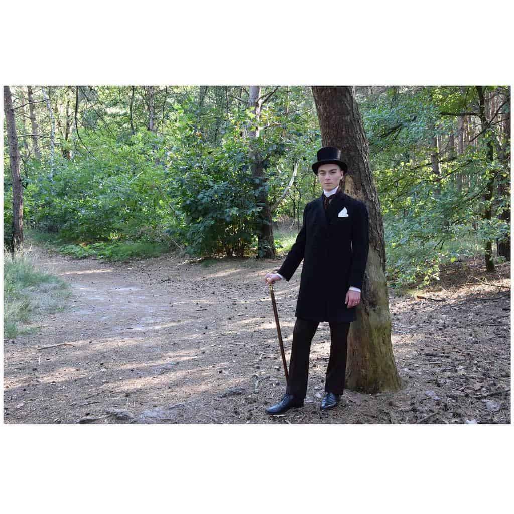 Formal Edwardian Victorian Suit Style