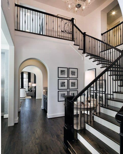 Top 80 best foyer ideas unique home entryway designs - Best foyer colors 2018 ...