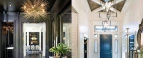 Top 40 Best Foyer Lighting Ideas – Illuminated Entrance Designs