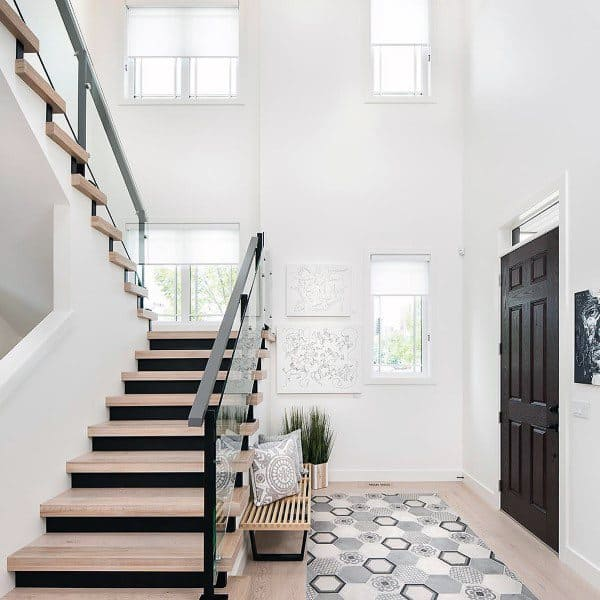 Foyer Tile Design Ideas