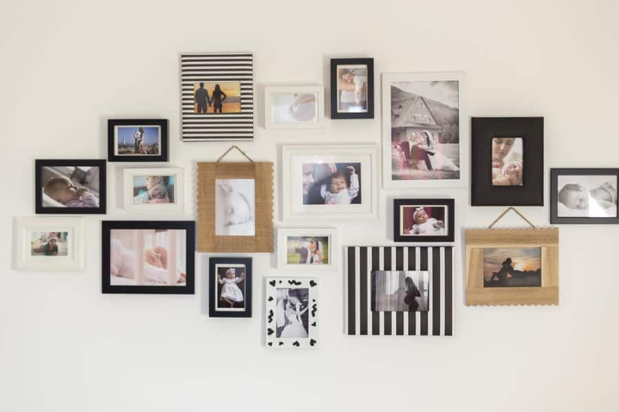 Frame And Hanger Picture Wall Ideas 2