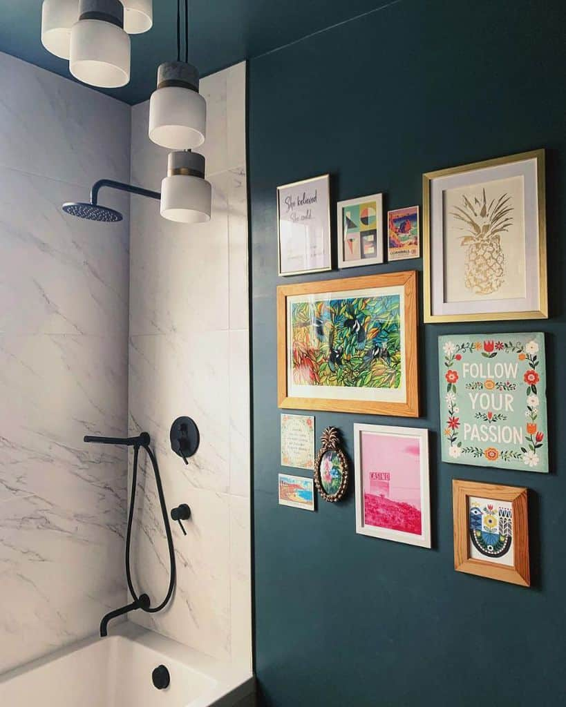 Frame And Hanger Picture Wall Ideas At Home At