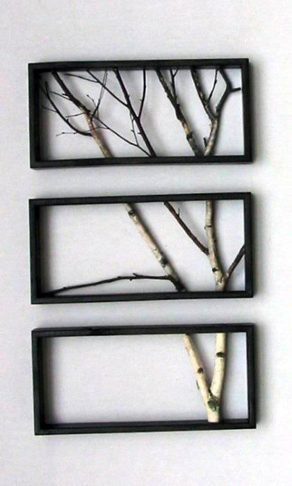 Frames Tree Branches Bachelor Pad Wall Art For Men
