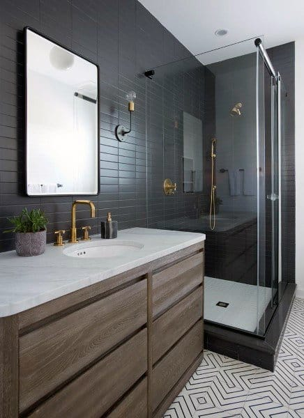 Top 50 Best Bathroom Mirror Ideas Reflective Interior Designs