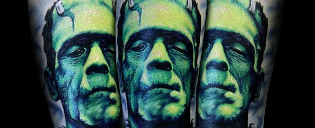 Frankenstein Tattoos For Men