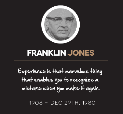 Franklin Jones Quotes