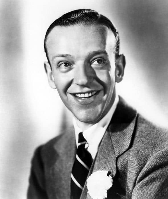 Fred Astaire With Short Length 1930s Male Hairstyle