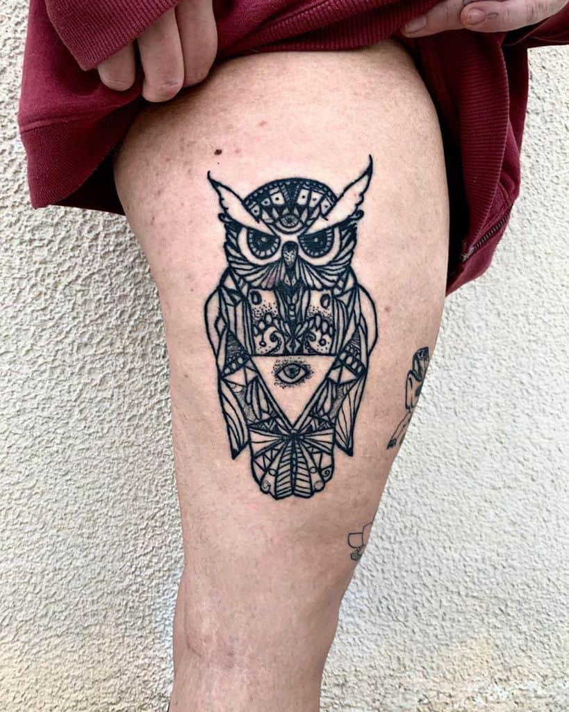 Free Hand Eye Tattoo