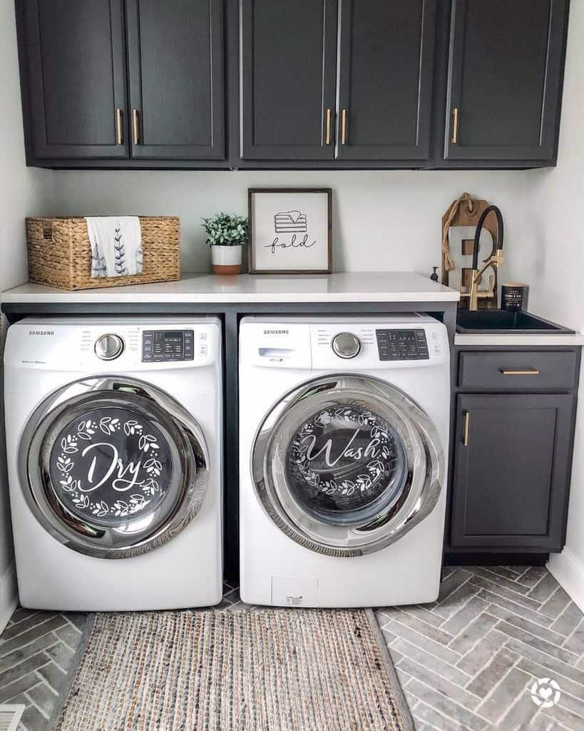 free standing laundry room sink ideas hilltopliving