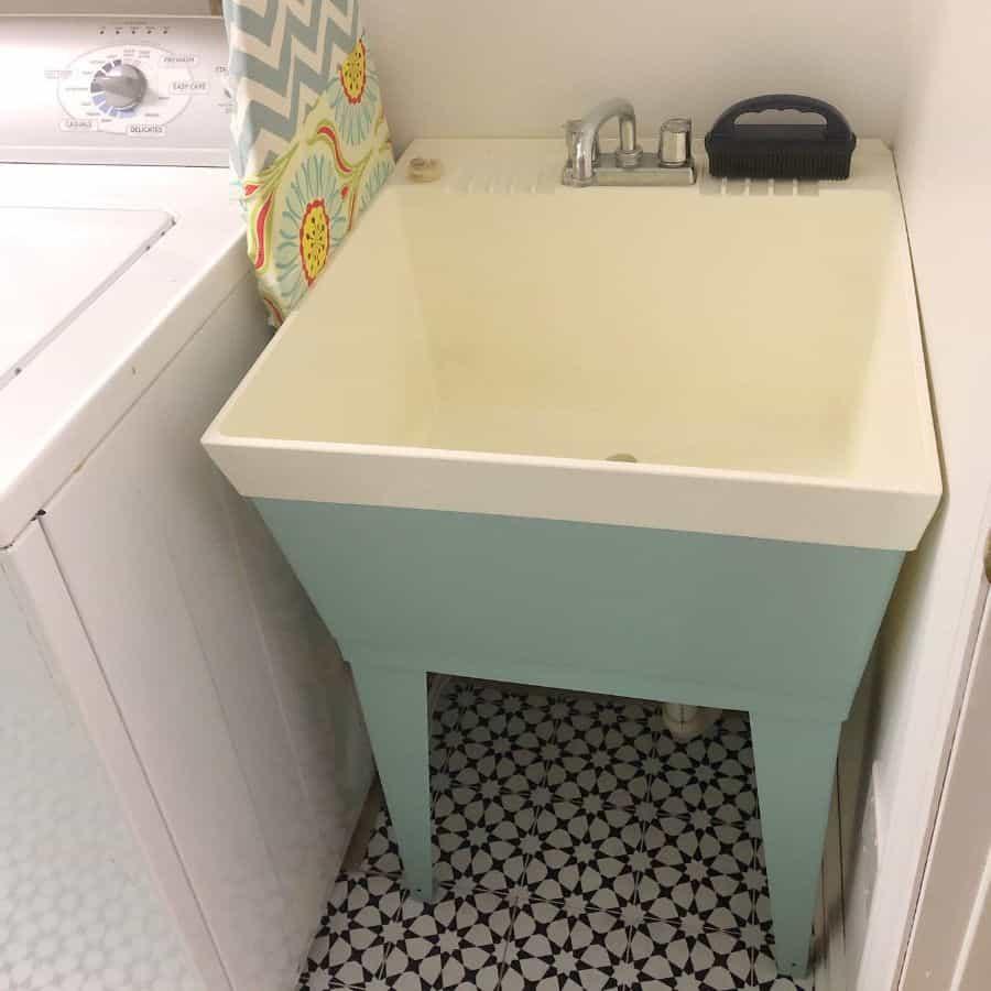 free standing laundry room sink ideas paintandcheerinteriors