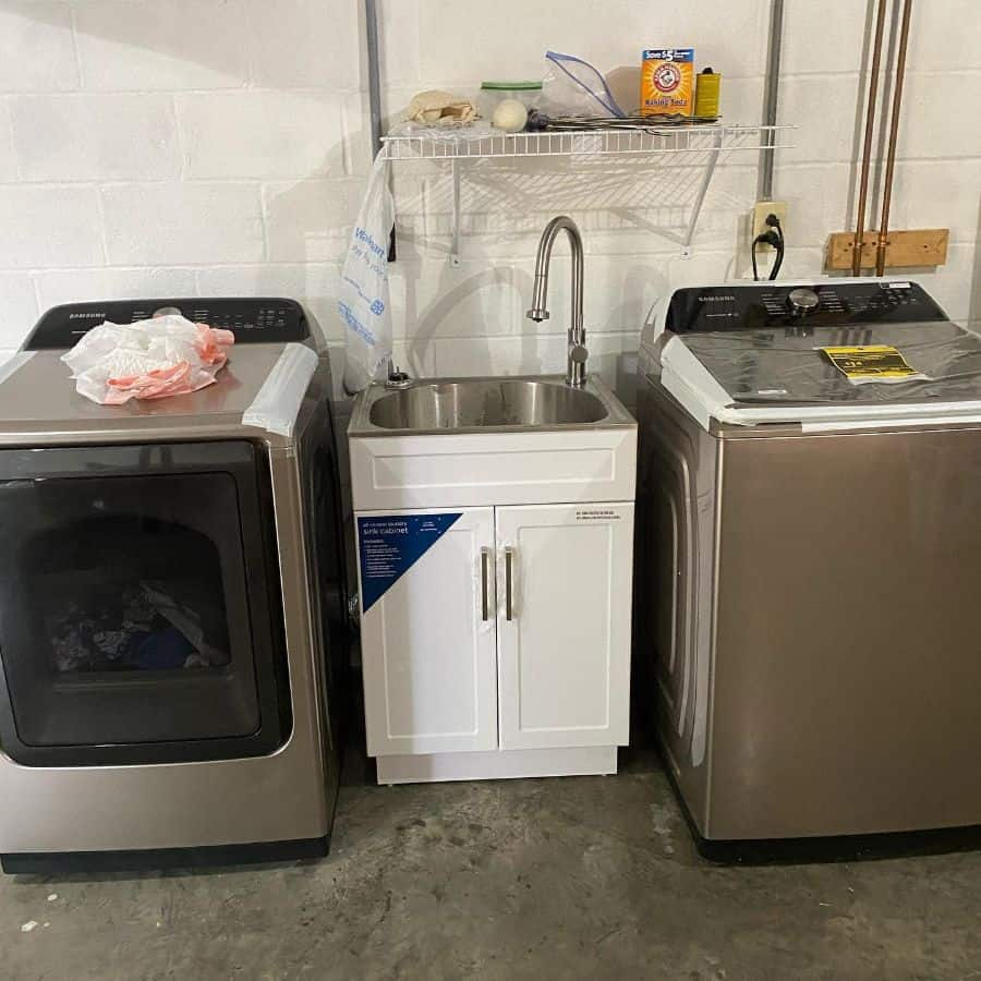 free standing laundry room sink ideas tcmhomeservices