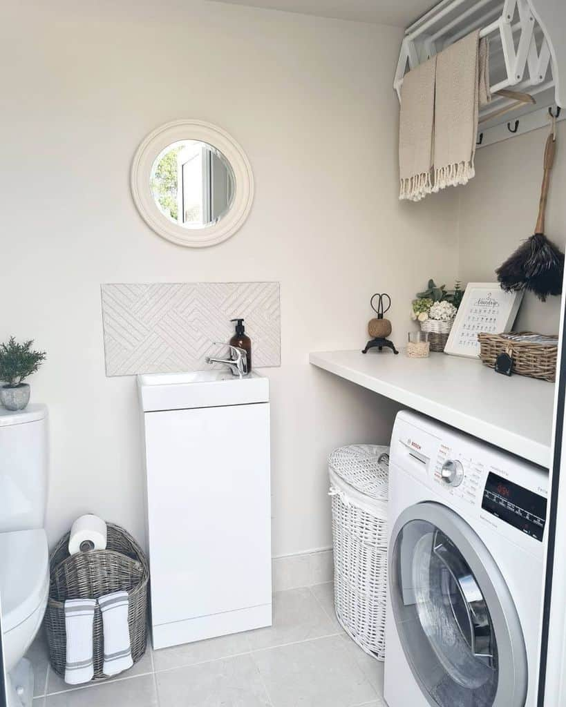free standing laundry room sink ideas thelittlelogcabinandmyhome