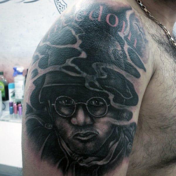 Freedom Military Tattoo Design Ideas For Men