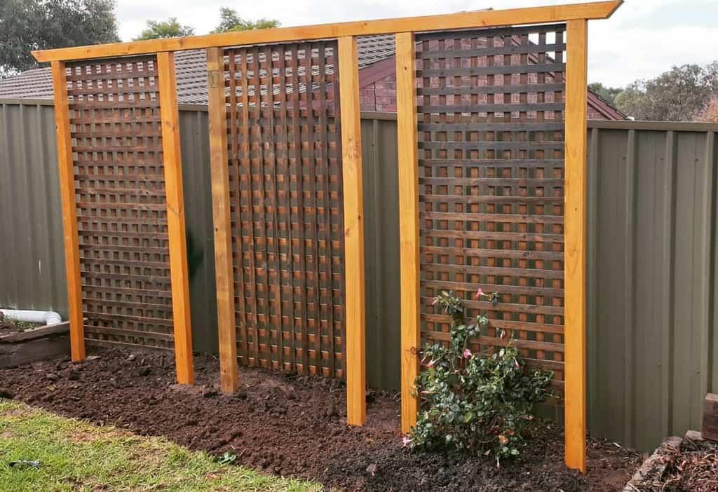 freestanding garden trellis ideas garden trellis ideas shazmojo