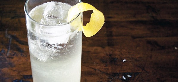 French 75 Champagne Drinks