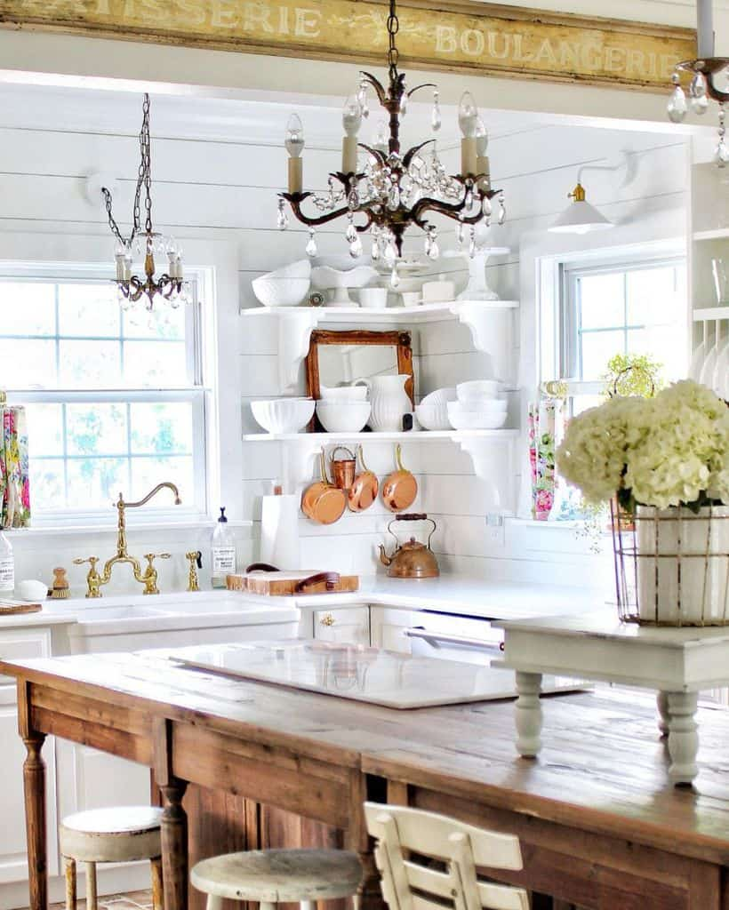 French Country Chic Kitchen Simplyfrenchmarket