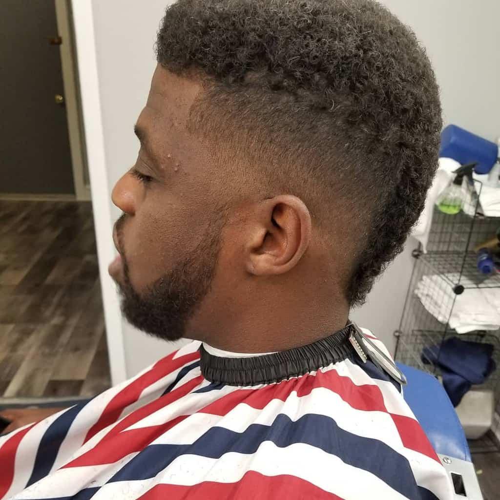 Frohawk Fade Cut