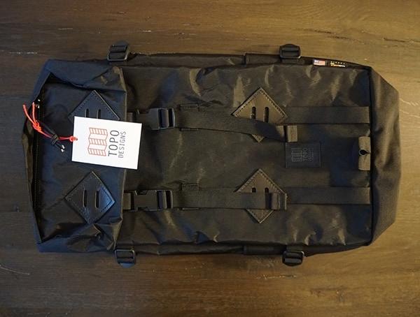 Front 22l Topo Designs Klettersack Backpacks