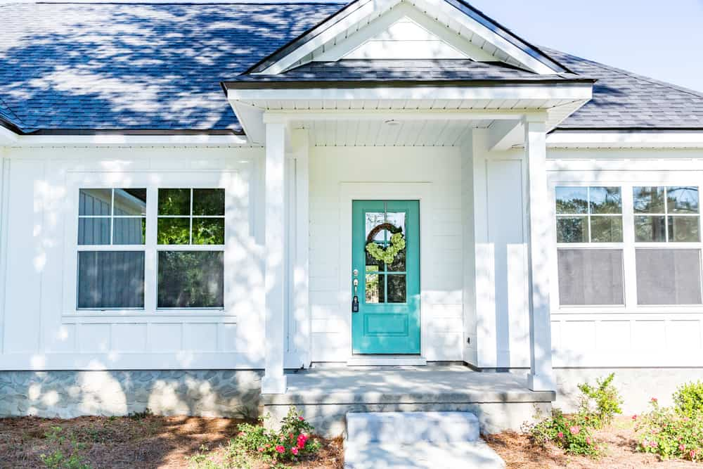 Front Door Modern Farmhouse Exterior 2