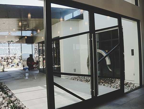 Front Entry Door Las Vegas Nevada 2019 New American Home