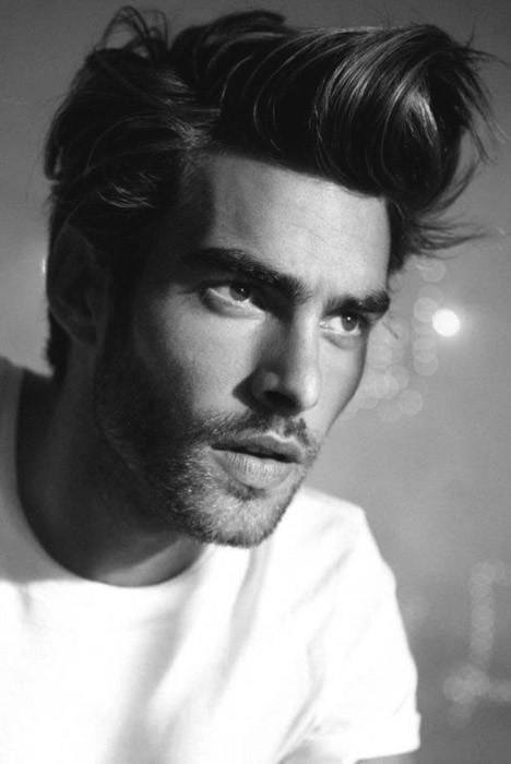 Front Flip Stylish Hairstyles For Men