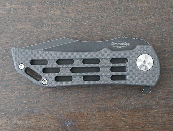 Front Folding Knife Darrel Ralph Dominator Ventilator Carbon Fiber Ii