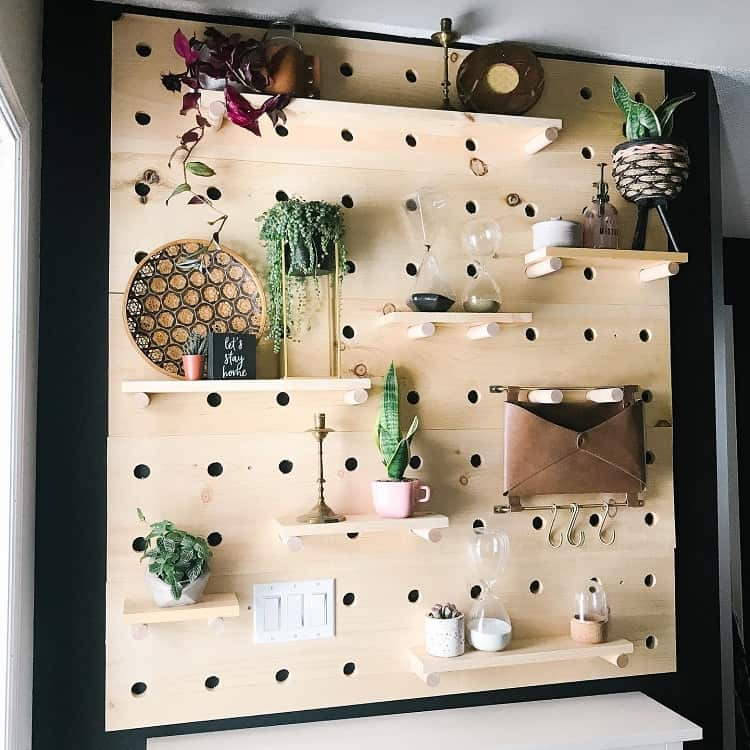 Front Foyerentry Room Pegboard Ideas Ourcountryacres