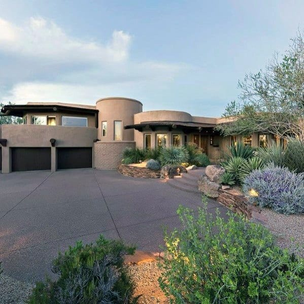 Front Of Home Desert Landscaping Ideas