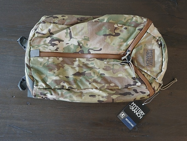 Front Of Pack Multicam Mystery Ranch Urban Assault Backpack With 500d Cordura Fabric