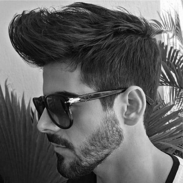 Front Quiff Mens Medium Hair Styles