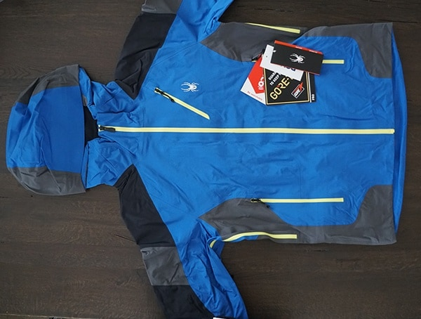 Front View Spyder Eiger Gtx Shell Jacket For Men