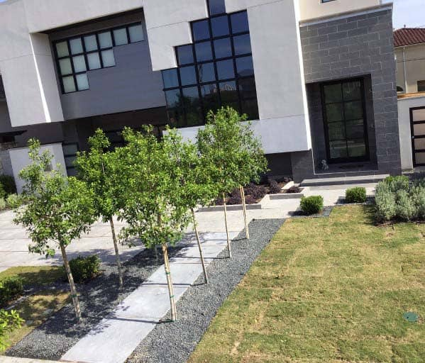 Top 60 Best Gravel Landscaping Ideas - Pebble Designs on Gravel Front Yard Ideas id=20038