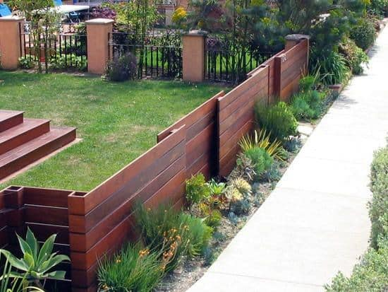 Front Yard Fence Ideas Inspiration Wood