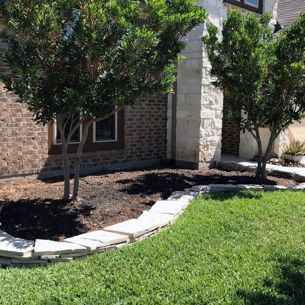 Top 40 Best Stone Edging Ideas – Exterior Landscaping Designs