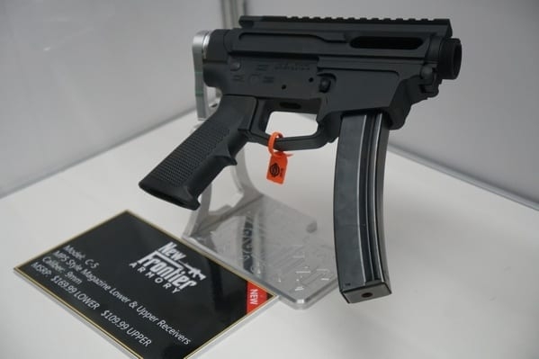 Frontier Armory C 5 Mp5 Style Magazine Lower Reciewver
