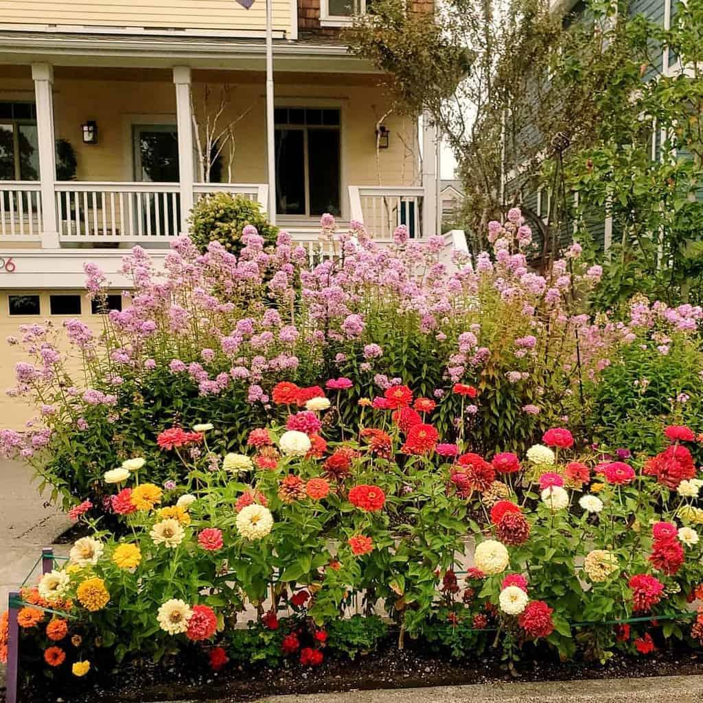 frontyard flower garden ideas nwdixieboy