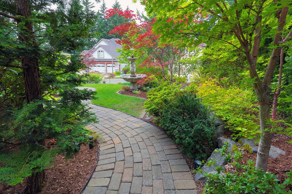 frontyard shade garden ideas 1